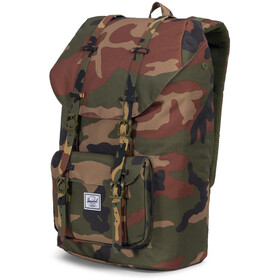 Herschel Little America Backpack woodland camo